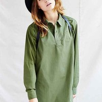 Urban Renewal Swedish Tunic Dress- Green
