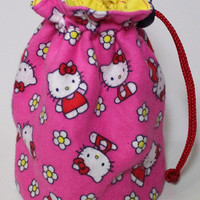 Hello Kitty  Drawstring Bag/Pouch