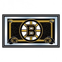 Trademark Global NHL Boston Bruins Framed Team Logo Mirror - NHL1525-BB - Decor