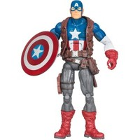 Marvel Universe Build a Figure Collection Hit Monkey Series Ultimate Captain America Figure - Review Buy Info - @ Nshopxii.com