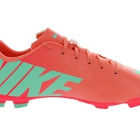 Kids Nike JR Mercurial Victory IV FG Soccer Cleat Atomic Pink/Atomic Red/Arctic Green