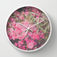 Dream a little dream with me Wall Clock by Hello Twiggs