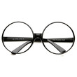 Super Oversize Fashion Clear Lens Round Circle Glasses 8713
