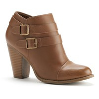 Two Buckle Ankle Boots