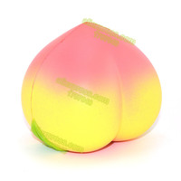 1PCS New Arrival 10CM Colossal Squishy Peaches Cream Scented Slow Rising Toy