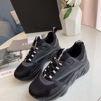 Dior  Fashion Men Casual Running Sport Shoes Sneakers Slipper Sandals
