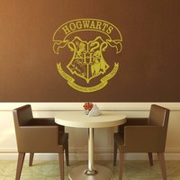 Hogwarts Crest - Harry Potter Who Wall Decal