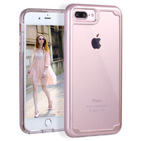 For iPhone 6 6S Plus 7 Plus Case Shock Resistant Transparent Clear Ultra Thin Slim Cover Protect Phone Cases For iPhone 7