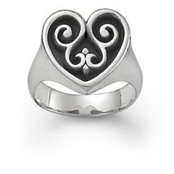 French Heart Ring: James Avery