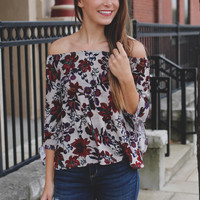 Floral Influence Top