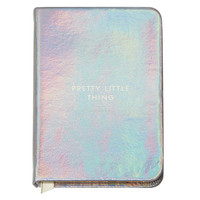Mini Silver Notebook - Pretty Little Things | Pigment