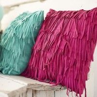 Junk Gypsy Fringe Pillow Cover