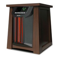 Oscillating 1,500 Watt Infrared Heater with Remote - 5,118 BTUs