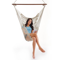 Hatteras Hammock Chair at Brookstone—Buy Now!