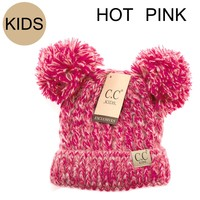KIDS POM POM CC beanie (Other colors)