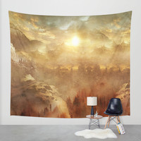 Wish You Were Here (Chapter I) Wall Tapestry by Viviana Gonzalez