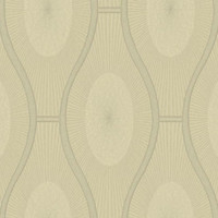 Sample Malabar Wallpaper in Pewter by Ronald Redding for York Wallcoverings