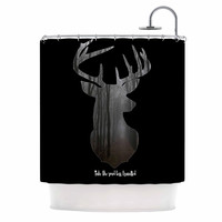 "Suzanne Carter ""The Road"" Contemporary Nature Shower Curtain"