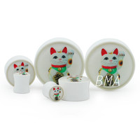 Lucky Cat Plugs (2mm-60mm)