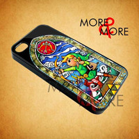 Zelda Wind Walker Archery - iPhone 4/4s/5 Case - Samsung Galaxy S2/S3/S4 Case - Black or White