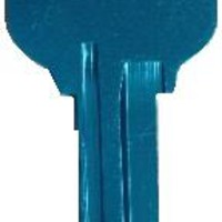 808 KW1 Titanium Turquoise House Key [KW1 Titanium Turquoise] - $0.50 : Key Craze, Wholesale Key Blanks and Accessories