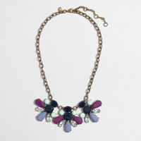 Factory mixed stone crystal necklace