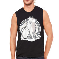 adopt a dire wolf Muscle Tank