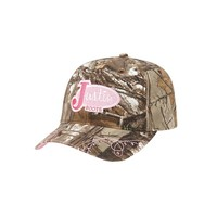 Justin Boots Women's Justin All Over Camo and Pink Cap - PDG73493