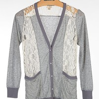 Daytrip Lace Inset Cardigan - Women's Shirts/Tops | Buckle