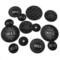 Graduation Party Table Decorating Kit - Chalkboard Cheers