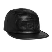 HUF - LAMBSKIN LEATHER VOLLEY // BLACK