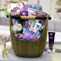 Lavender Sky Ultimate Aromatherapy Spa Day in a Basket!
