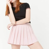 Box Pleated Skort
