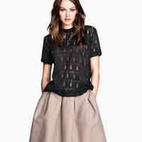 H&M - Lace Top - Black - Ladies