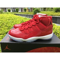 Air Jordan 11 red Basketball Shoes 36-47