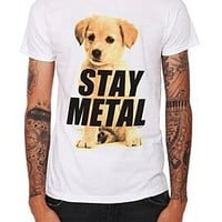 Miss May I Stay Metal Puppy T-Shirt - 10002498