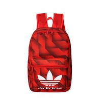 """Adidas"" Casual Style Pattern School Backpacks Laptop Backpack Shoulder Bag Travel Bag"