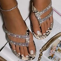 Women's Dazzling Fashion Flip-flop Sandals