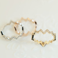 Gift Jewelry New Arrival Stylish Shiny Rhinestone Colourfast Ring [6586154631]