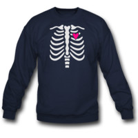 Gladditudes Maternity Skeleton Top 2012 sweatshirt