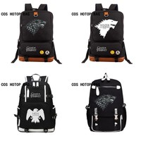 TV Game of Thrones Ice and Fire backpack for teenagers Men women's Student School Bags travel Shoulder Bag 10 style