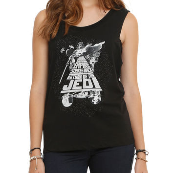 Star Wars Trilogy Poster Girls Muscle Top
