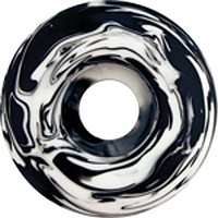 Essentials Blk & Wht Swirl 52mm Skate Wheels
