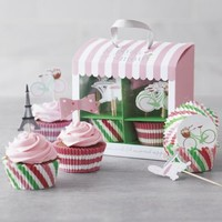 Je Paris avec Amour Bake Cup Set | Sur La Table