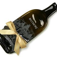 Biltmore Century Red Wine Melted Bottle Cheese Tray / Gift for Mom / Ashville NC / The Biltmore Red Wine / North Carolina