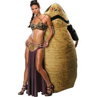 Princess Leia and Jabba The Hutt Star Wars Couples Costumes