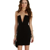 Sale-black All The Right Angles Dress