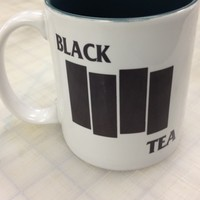 Black Tea Mug Flag