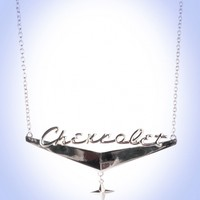 Pinup Girl Clothing- GM Chevrolet Chrome Necklace | Pinup Girl Clothing