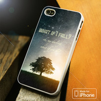 What If I Fall iPhone 4 5 5C SE 6 Plus Case